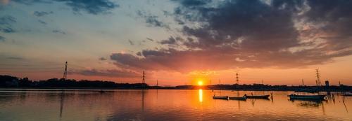 nouvel an - lever du soleil