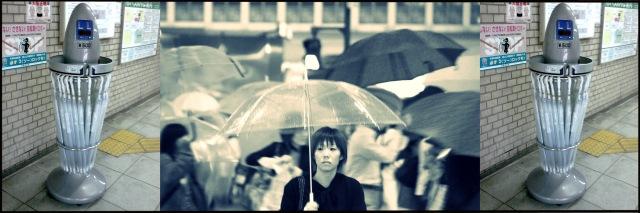 Distributeur parapluie