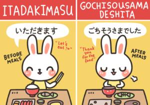 itadakimasu gochisosama