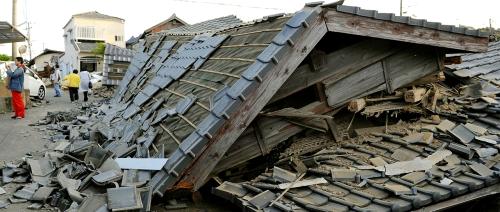 tremblement de terre Kumamoto2