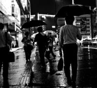 Rue de nuit au Japon
